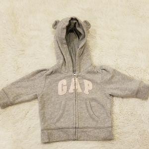 🎉 Like New 3-6mo babyGap logo hoodie